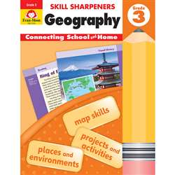 Skill Sharpeners Geography Gr 3, EMC3743