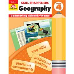 Skill Sharpeners Geography Gr 4, EMC3744