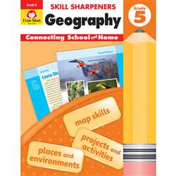 Skill Sharpeners Geography Gr 5, EMC3745