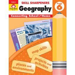 Skill Sharpeners Geography Gr 6, EMC3746