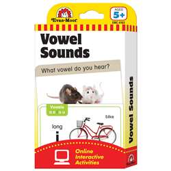 Flashcard Set Vowel Sounds By Evan-Moor