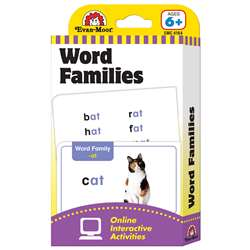 Flashcard Set Word Families By Evan-Moor