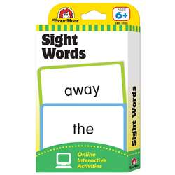 Flashcard Set Sight Words By Evan-Moor