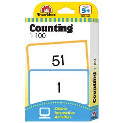 Flashcard Set Counting 1-100 By Evan-Moor