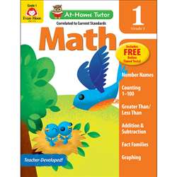 Home Tutor Math Gr 1 Addition Fact 11-18, EMC4175