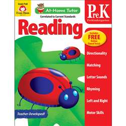 Home Tutor Reading Pre K The Alphabet, EMC4177