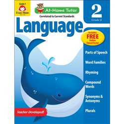Home Tutor Language Gr 2 Word Families, EMC4180