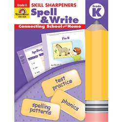 Spell & Write Kindergarten By Evan-Moor