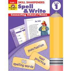 Skill Sharpeners Spell & Write Gr 1 By Evan-Moor