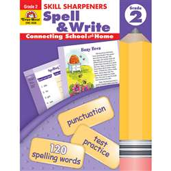 Spell & Write Grade 2 By Evan-Moor