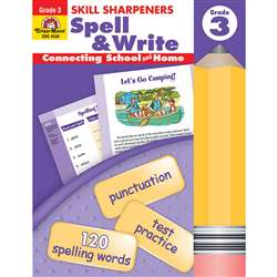 Spell & Write Grade 3 By Evan-Moor