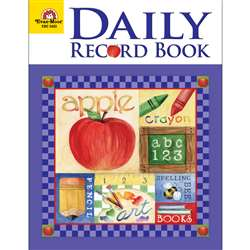 Daily Record Book School Days Theme By Evan-Moor