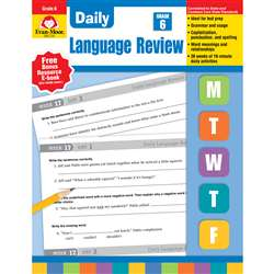 Daily Language Review Grade 6 By Evan-Moor