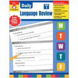 Daily Language Review Grade 1 By Evan-Moor