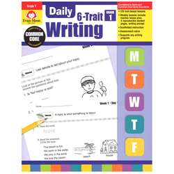 Daily 6 Trait Writing Gr 1 By Evan-Moor