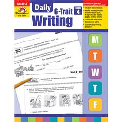 Daily 6 Trait Writing Gr 4 By Evan-Moor