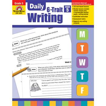 Daily 6 Trait Writing Gr 5 By Evan-Moor