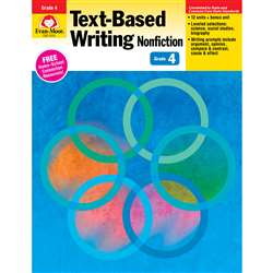 Shop Gr 4 Text Based Writing Lessons For Common Core Mastery - Emc6034 By Evan-Moor