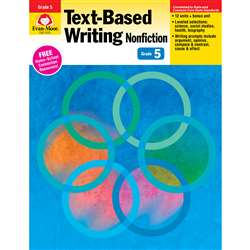 Shop Gr 5 Text Based Writing Lessons For Common Core Mastery - Emc6035 By Evan-Moor