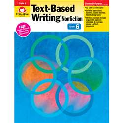 Shop Gr 6 Text Based Writing Lessons For Common Core Mastery - Emc6036 By Evan-Moor