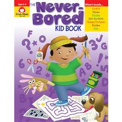 Never Bored Book Ages 5-6, EMC6303