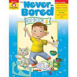 Neverbored Kid Book 2 Ages 4-5, EMC6307