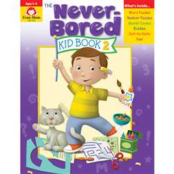 Neverbored Kid Book 2 Ages 5-6, EMC6308
