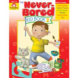 Neverbored Kid Book 2 Ages 6-7, EMC6309