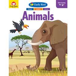 Early Bird Read Learn Grow Animals, EMC7053