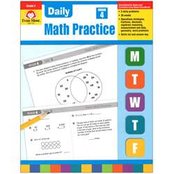 Daily Math Practice Grade 4 By Evan-Moor