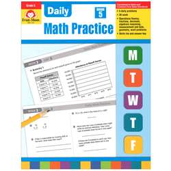 Daily Math Practice Grade 5 By Evan-Moor