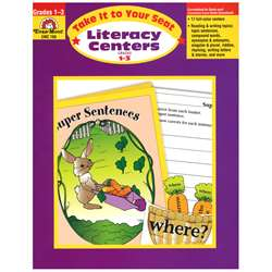 Literacy Centers Gr 1-3 By Evan-Moor