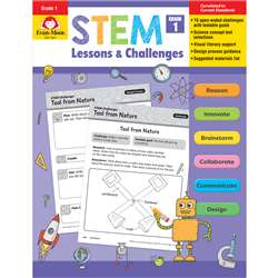Stem Lessons & Challenges Grade 1, EMC9941