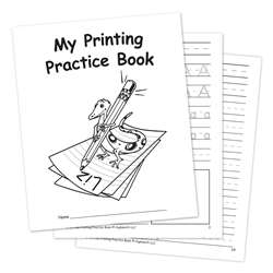 My Own Printing Practice Book By Edupress