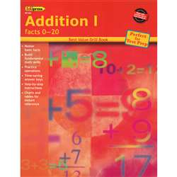Addition 1 Facts 0-20 By Edupress