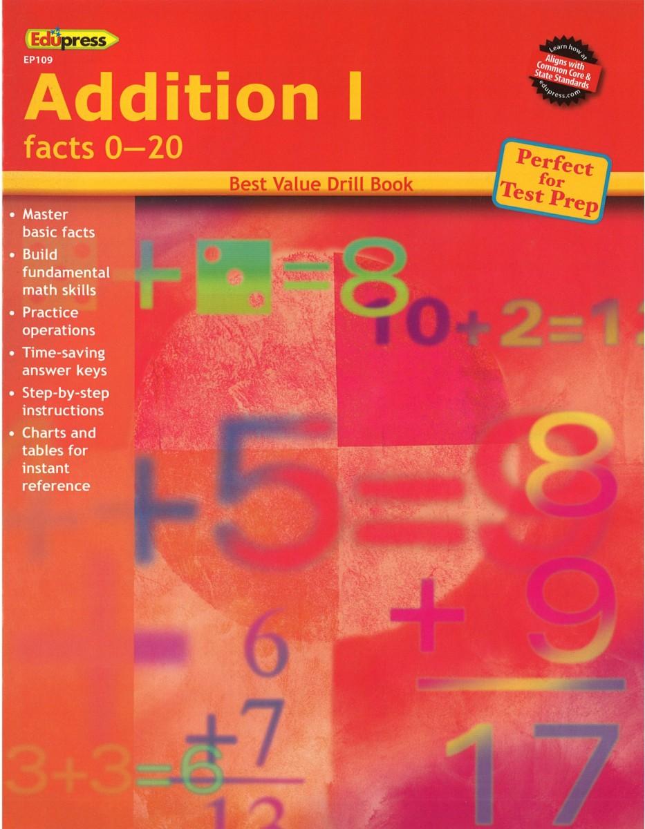 Addition 1 Facts 0 20 By Edupress Addition K12schoolsupplies