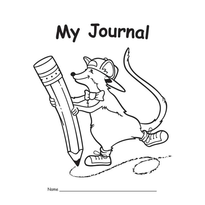 My Journal Primary 10-Pk By Edupress