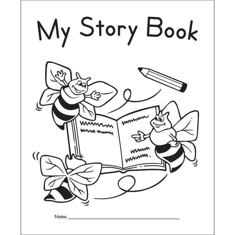 My Story Book Primary 10pk By Edupress Writing Skills