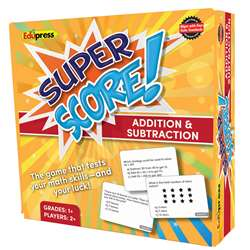 Super Score Game Add Sub Gr 1-2, EP-2080