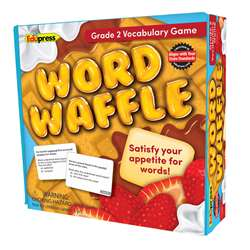 Word Waffle Game Gr 2, EP-2093