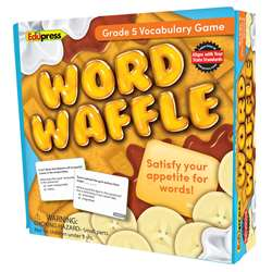 Word Waffle Game Gr 5, EP-2096