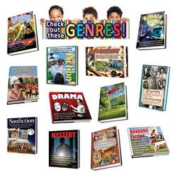 Exploring Genres Bulletin Board Set By Edupress