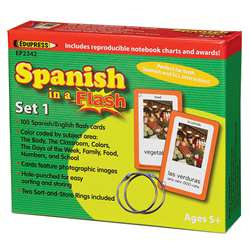 Spanish In A Flash Set 1 By Edupress