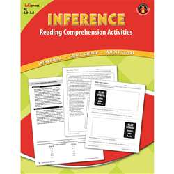 Inference Comprehension Book Red Level By Edupress