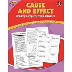 Cause Effect Comprehension Book Red Level By Edupress