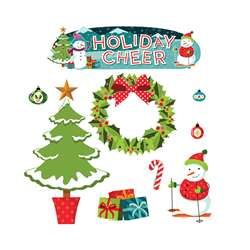 Holiday Cheer Mini Bulletin Board Set, EP-2394
