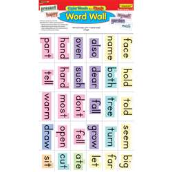 Sight Words In A Flash Gr 1-2 Word Walls By Edupress