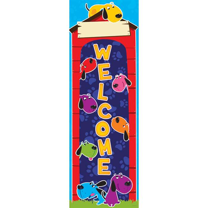 Shop Dogs Welcome Banner - Ep-2638 By Edupress