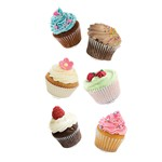 Cupcakes Mini Accents By Edupress