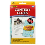 Context Clues Reading Comprehension Cards Yellow Level By Edupress